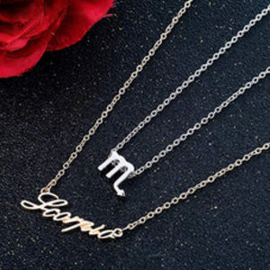 Jewelry - Scorpio Zodiac Constellation Necklace